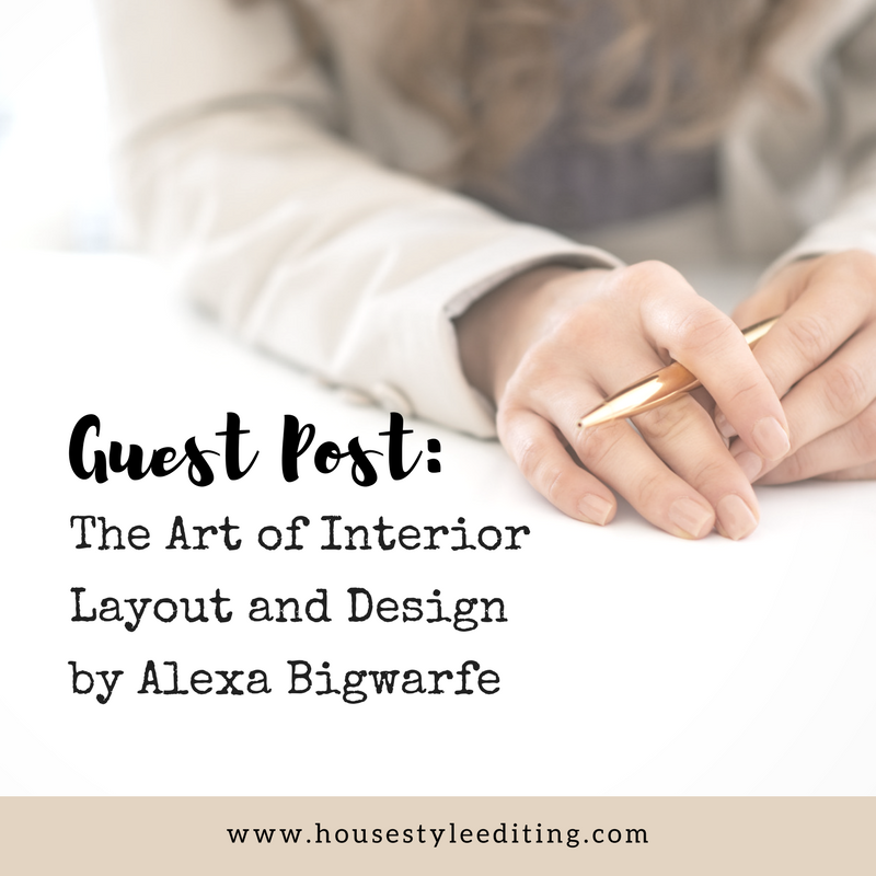 Alexa Bigwarfe | Book Layout and Design | House Style Editing