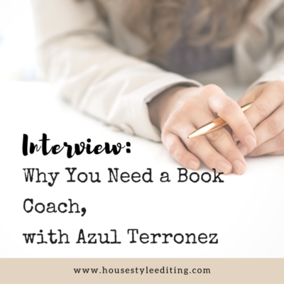Why You Need a Book Coach, with  Azul Terronez