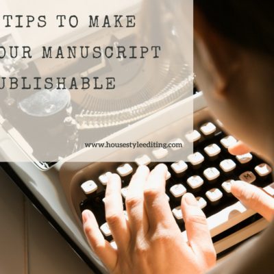 Make Your Manuscript Publishable | House Style Editing