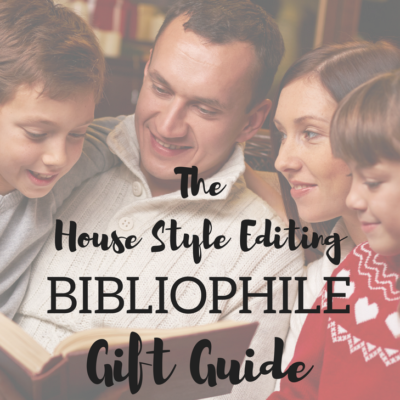 Holiday Gift Guide for the Bibliophile in Your Life
